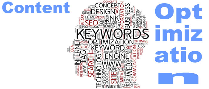 Content optimization in seo